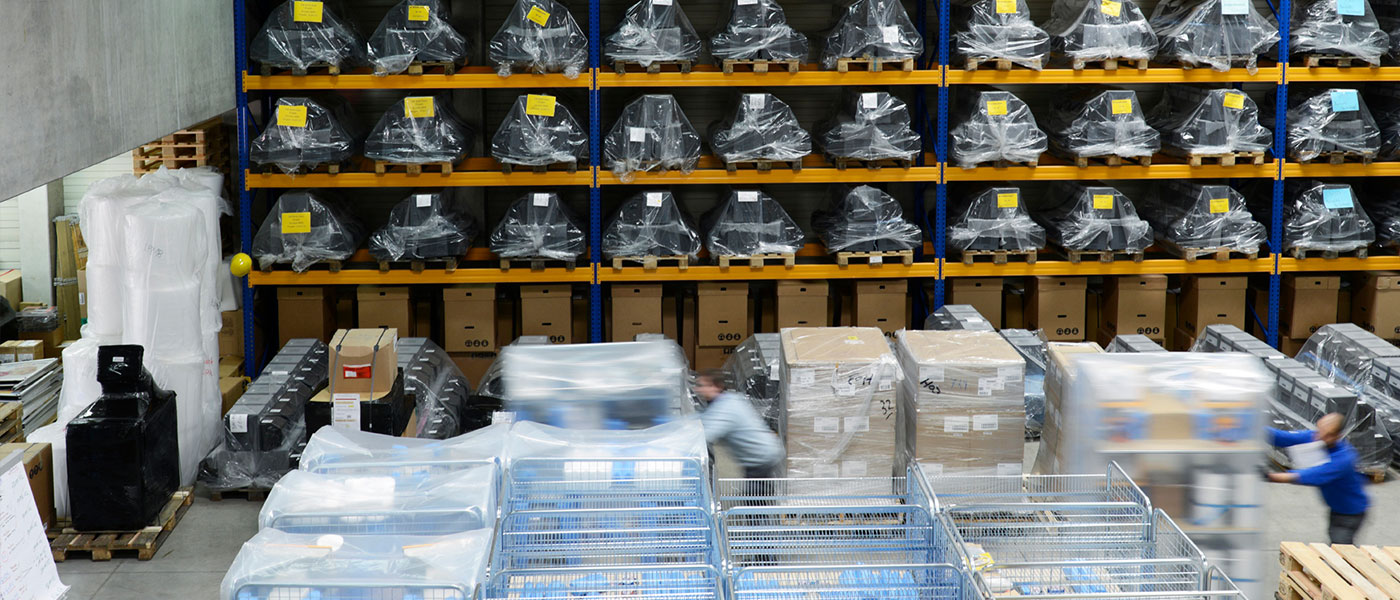 Lager von TIS-Service GmbH