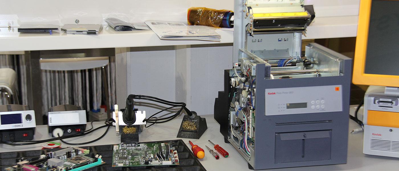 Reparaturwerkstatt Drucker