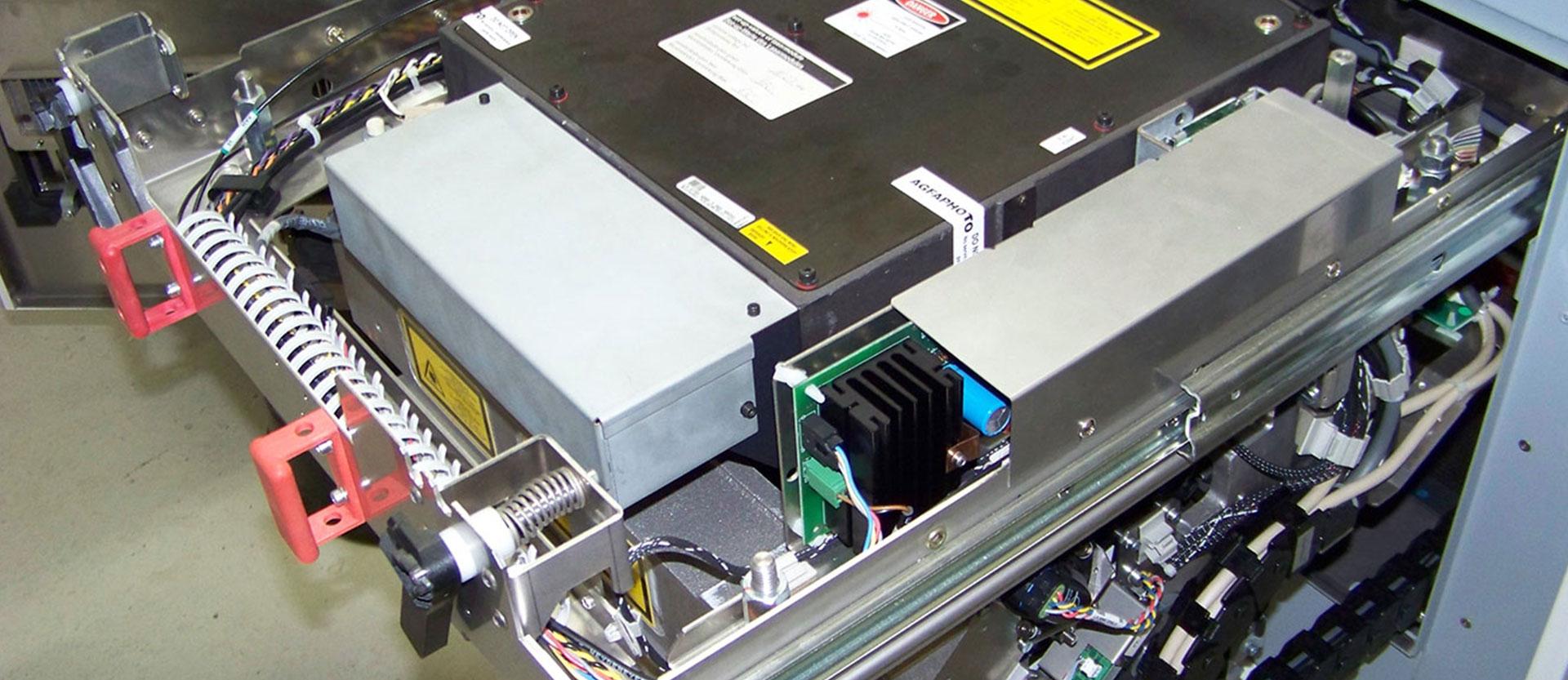 Großformat-Drucker ohne Verkleidung