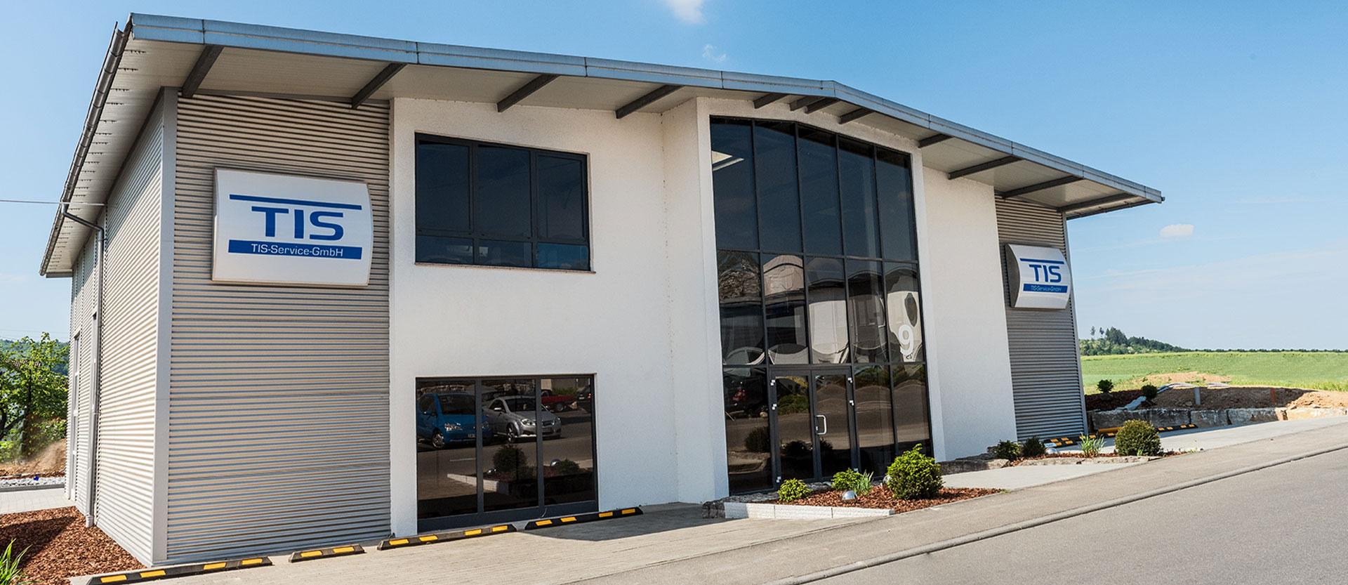 Firmengebäude der TIS-Service
